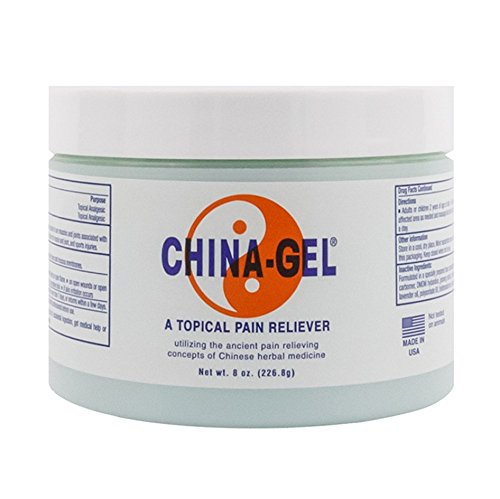 China-Gel Topical Pain Reliever Cream - Herbal Therapeutic Massage Cream to Help Sooth Away Muscle...