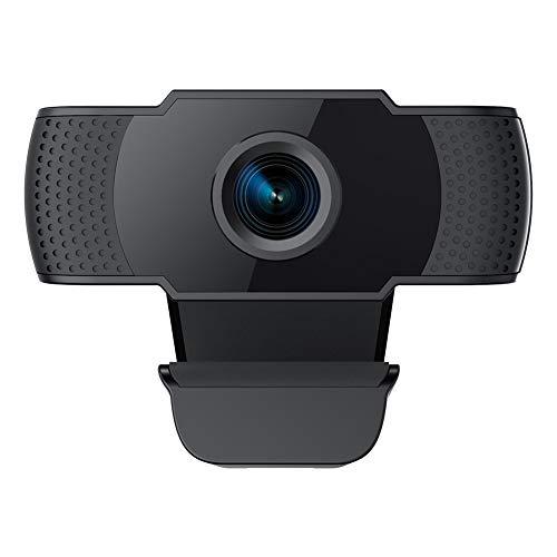 usogood Webcam 1080P mit Mikrofon, PC Laptop Desktop USB 2.0 Webkamera für Videoanrufkamera, Telearbeit, Online Kurs und Heimarbeit
