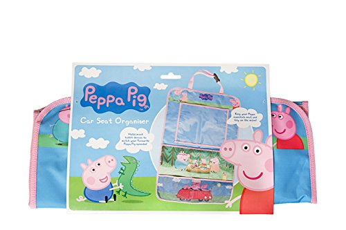 An image of the Peppa Pig Car Seat Organiser