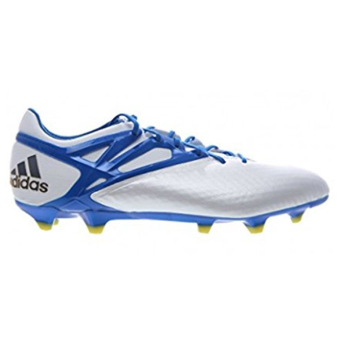 adidas-Männer Messi 15,1 Fg/ag Firm Ground/Kunstrasen FuÃ?ballschuh 8 Us, WeiÃ? / Prime blau /