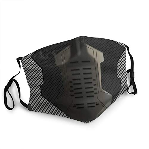 Winter Soldier Adult Face mask Printed Breathable Masks, dustproof, Running, Cycling, Outdoor Funny S Black
