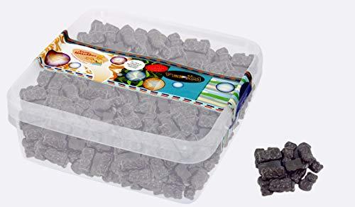 Süße Lakritz Bärchen - zuckerfrei - in einer praktischen AromaFrischeNaschbox 1kg - Deine Naschbox.