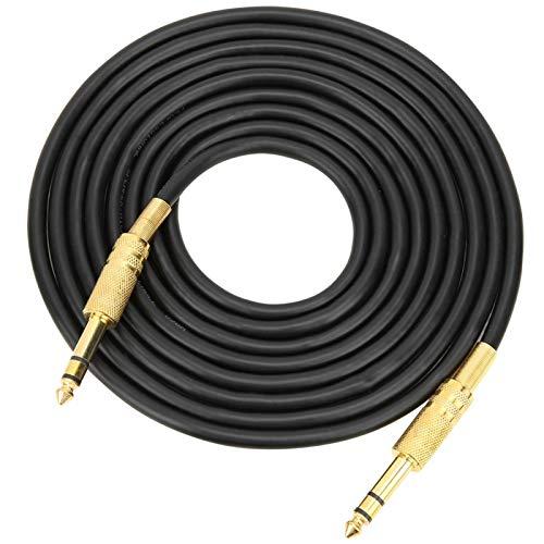 Cable de conexión de audio macho a macho duradero para amplificador(3M)