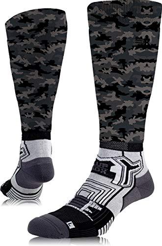 LUF SOX Performance Ride Transform Camo Ash - Socken für Damen und Herren, Unisex-Größe 35-38, 39-42 und 43-47, funktionell, für Sport und Freizeit