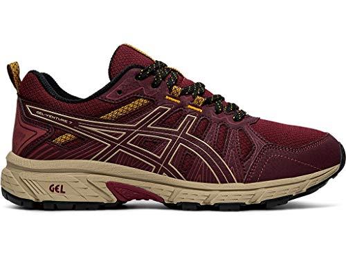 ASICS Women's Gel-Venture 7 Running Shoes, 8M, Chili Flake/Wood Crepe