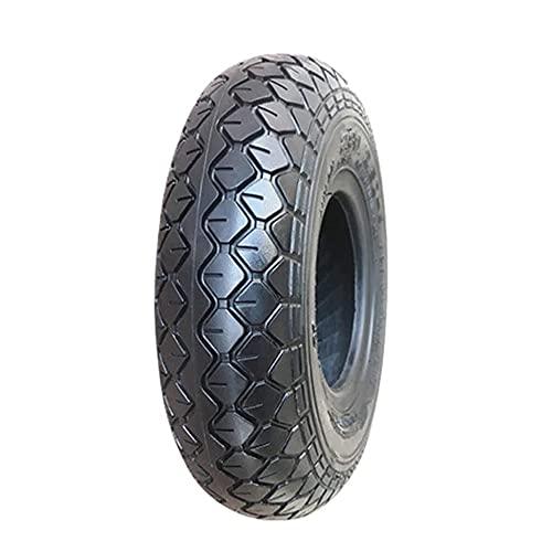 Neumáticos de scooter eléctricos, 2.80 / 2.50-4 neumáticos interiores y exteriores antideslizantes, neumáticos resistentes al desgaste de la cúpula de 4 capas, adecuados for un neumático de scooter de