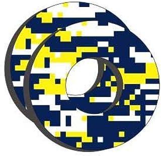 Factory Effex Blue/Yellow Moto Grip Donuts