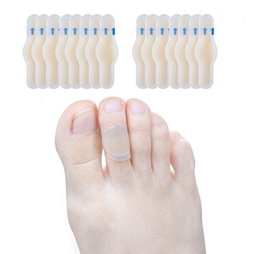 Sumiwish 15x Blasenpflaster, Pflaster Blase Fuß, Gel Pflaster (Wasserdicht & Kleber) für Blasen an Den Füßen, Für Unterwegs, Blisterpackung Schutzpolster