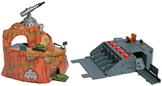 Secret Double Base Micro Machines Military Playset