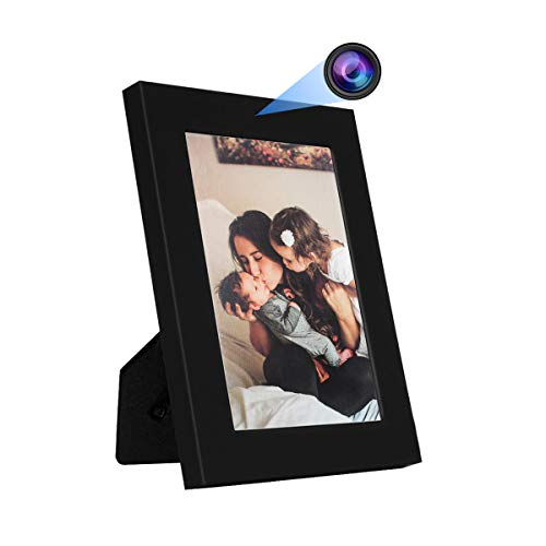 KAMRE Hidden Spy Camera Photo Frame 960P Home Security Camera, Mini Hidden Video Camera for Home and Office, No WiFi Function (Bonus 32GB SD Card Included)
