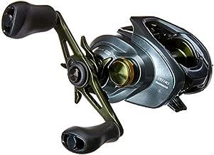 SHIMANO Curado DC 151; Left-Handed; High Gear; Lowprofile Baitcasting Freshwater Fishing Reel