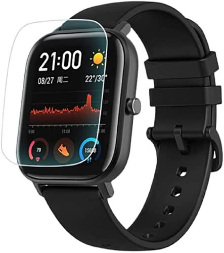 Película Proteção TPU Gel Smartwatch Xiaomi Amazfit GTS, GTS 2, GTS 2e, Colmi P8, A1, C/ 1 Unidade