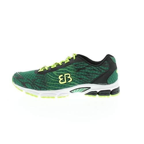 Brütting Męskie buty halowe Billow, zielony - Zielony, zielony, czarny, cytrynowy - 40 EU