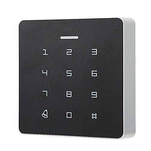 RFID-Kartentür-Zugangskontrolle, Kennwort-Anwesenheits-Maschine RFID-Kartenleser-Tür-Zugangskontrolle Berührungsloses Steuertastatursystem mit 5 * ID-Karte