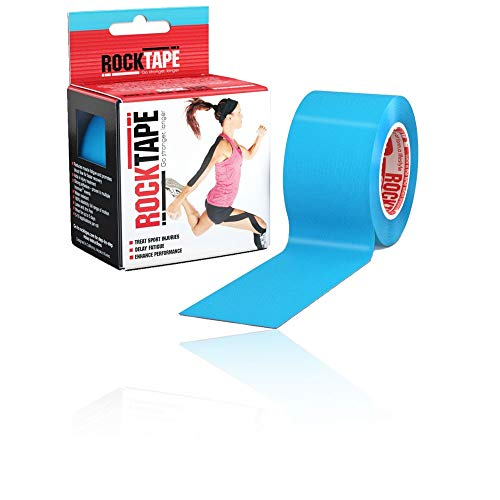 Rocktape Unisex-Adult STD Kinesiologie-Tape, Blau, 5cm x 5m