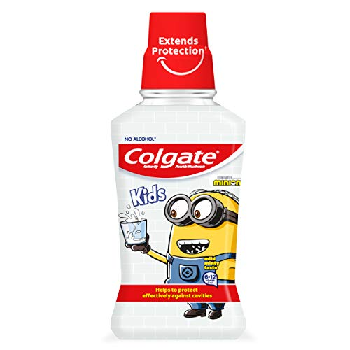 Colgate Minions, Enjuague Bucal - 250 ml