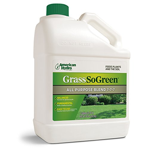 Grass so Green 7-7-7 F4G Formula is an Environmentally-Friendly Liquid Fertilizer that is Applied Through an American Hydro Systems Feeder System in Continuous Small Doses.