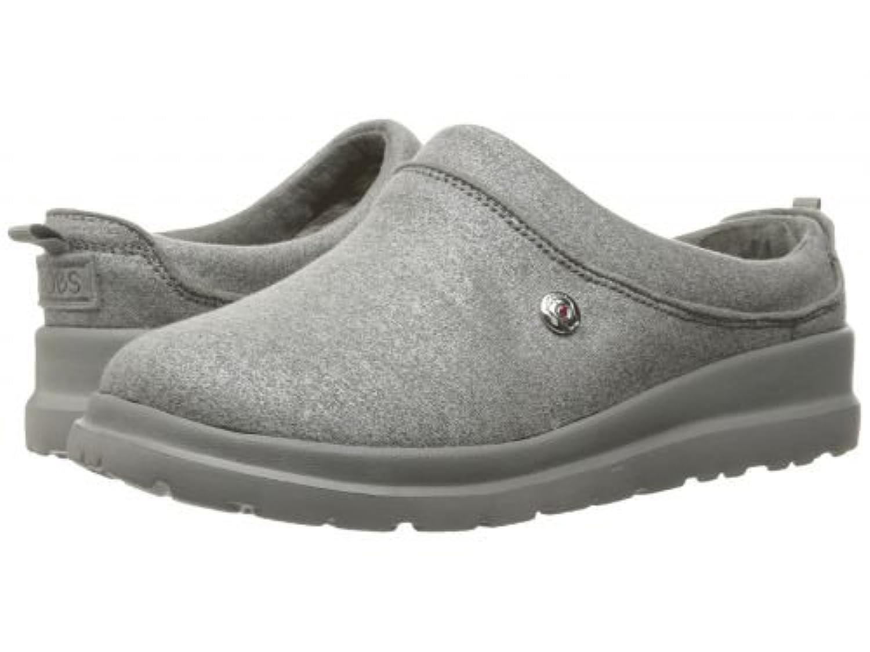 BOBS from SKECHERS(ボブス スケッチャーズ) レディース 女性用 シューズ 靴 スリッパ Cherish - Sleigh Ride - Silver [並行輸入品]