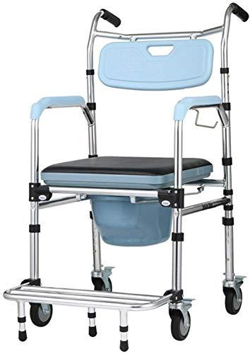 HMMN La Silla de alimentación Plegable de aleación de Aluminio, se Puede implementar la prevención de reinversión bañada, Utilizada para Mujeres Embarazadas con discapacidades Mayores