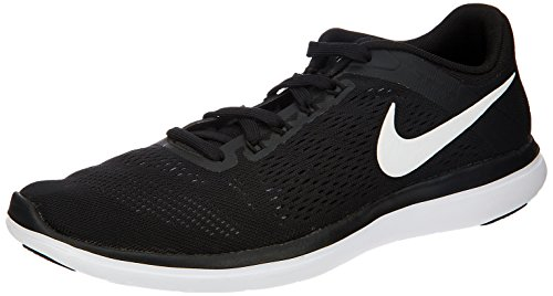 Nike Men's Flex 2016 Rn Running Shoe (10 D(M) US, Black/White/Cool Grey)