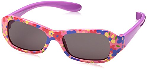 DICEB|#Dice Dice Mädchen Sonnenbrille, Shiny pink Flower, One Size