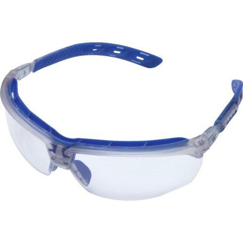 ミドリ安全 保護めがね ビジョンベルデ 3Dフィット フレームカラー : ブルー VD-203F