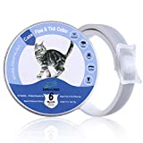 EXPAWLORER Cats Flea and Tick Collar – 6-Month Prevention Cat Collar – Adjustable