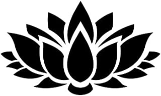 Pack of 3 Lotus Flower Stencils 16x20, 11x14 and 8x10 Made from 4 Ply Matboard