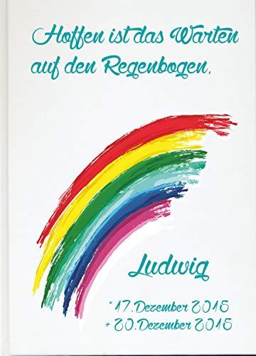 Livingstyle & wanddesign gepersonaliseerd fotoalbum boek voor sterren met regenboog wit