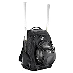 The unique external helmet holder provides more space for equipment inside the bag and has a designated space for team embroidery Dual zipper design with fence hook for dugout functionality Vented shoe compartment Top pocket for personal items 2 side...