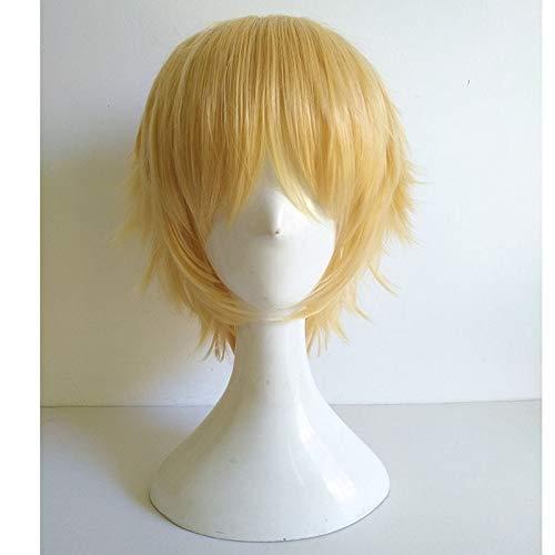 Alibaba Saluja Sarujia Gilgamesh Shinomiya Natsuki Panty peluca resistente al calor pelo sinttico Cosplay disfraz pelucas + peluca gorra