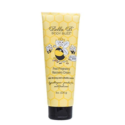 Bella B Body Buzz Cream 8 oz - Cellulite Cream - Skin Firming Cream For Pregnancy - Cellulite And Firming Cream - Deep Moisturizing Body Cream - Belly Butter For Pregnancy