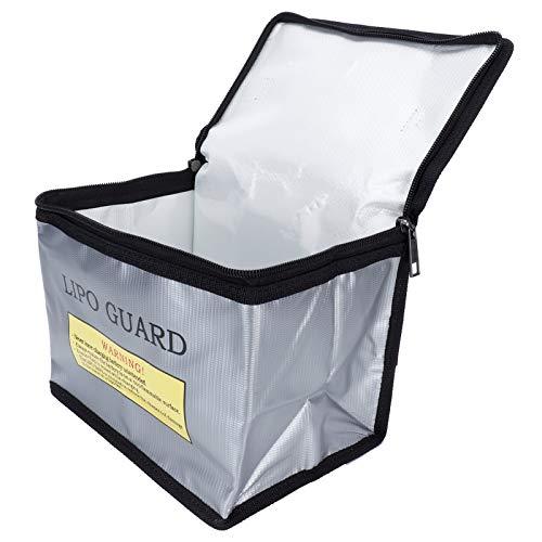 Caja de Seguridad para baterías, Bolsa de batería lipo Completamente Cerrada a Prueba de explosiones a Prueba de Fuego para almacenar Productos inflamables para almacenar Productos