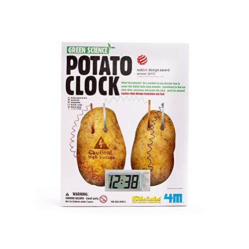 4M Potato Clock