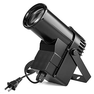 Donner Spotlight Stage Effect Pinspot LED Light DL-5 10W 6CH RGBW Auto/DMX DJ Lightning Control