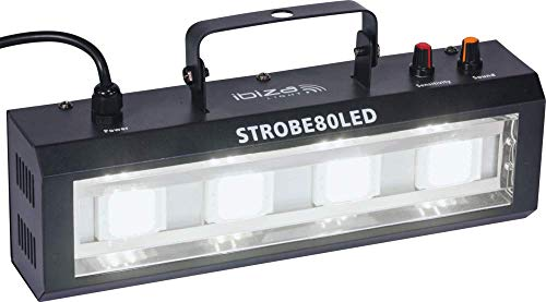 Ibiza Light & Sound STROBE80LED LED Strobe mit 4x 20W
