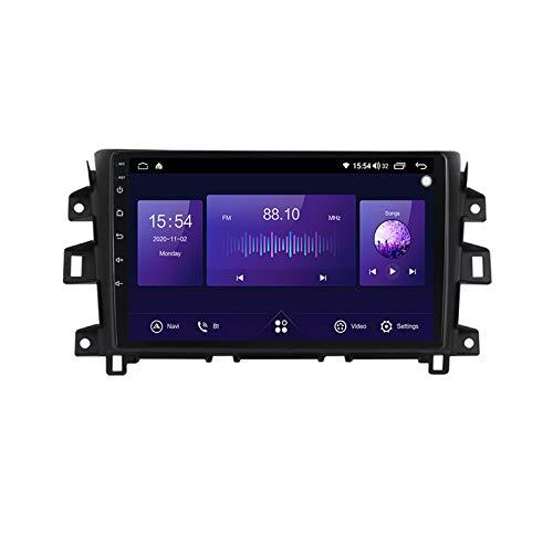 Para Nissan Navara NP300 2011-16 Android Car Radio Radio Double Din GPS Navi Receptor de video con pantalla táctil de 9 pulgadas Reproductor multimedia con 4G DSP Carplay,7862 no canbus,6+128G