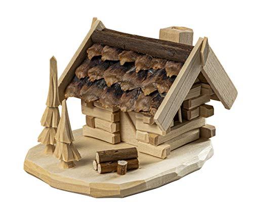 Saico RHE90011 Räucherhaus, Holz, farbig, groß