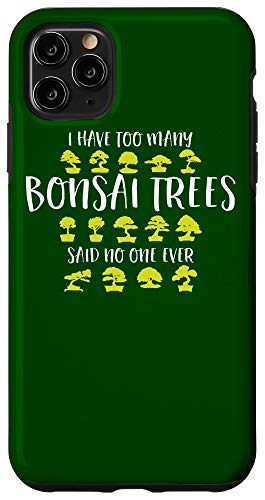 iPhone 11 Pro Max Bonsai Tree Care Vintage Japanese Gifts for Zen Graphic Case