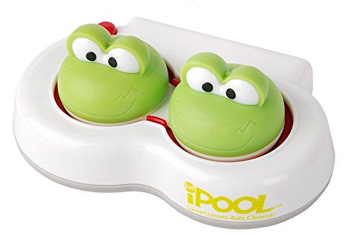MioTTiCA IPOOL Prog Characters Contact Lens Vibration Cleaner (Green)