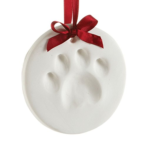 Pearhead 50001 Pawprints Hanging Ornament, Holiday