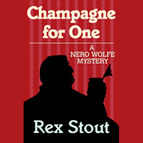 Champagne for One audiobook cover art