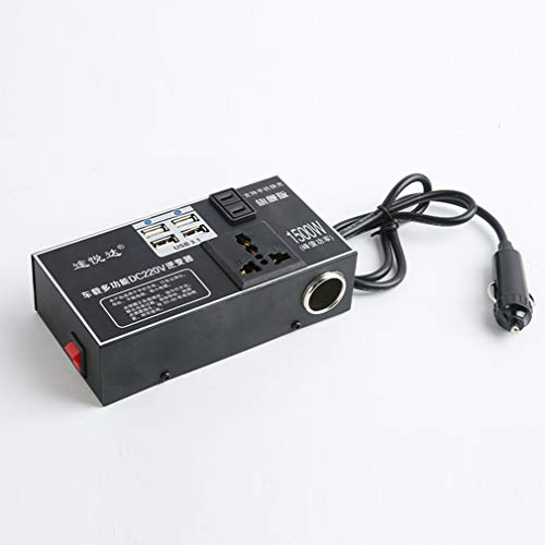 ZXF- Fuente De Alimentación del Coche Cargador USB 12V / 24V-220V Inversor Convertidor De Voltaje Camión Coche