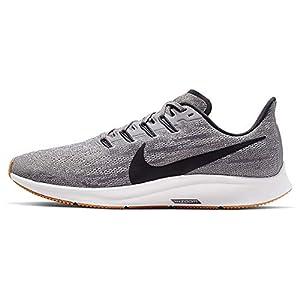 Nike Men's Air Zoom Pegasus 36 Running Shoes (10 D US, Gunsmoke/Oil Grey/White)