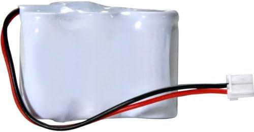 AT&T-Lucent 4051 Cordless Phone Battery Ni-CD 3-1/2AA w/JST, 3.6 Volt, 400 mAh - Ultra Hi-Capacity Battery