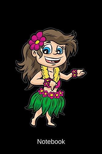 Notebook: Hawaiian Girl   Flower Power Girl