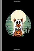 Terrier Yorkshire Ghost: Haunted Ghoul Spooky Dogs Halloween Party Scary Hallows Eve All Saint's Day Celebration Gift For ...