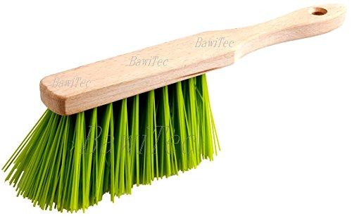 BawiTec professionele handbezem handveger eralon-elaston neon-groen elaston bezem tuin