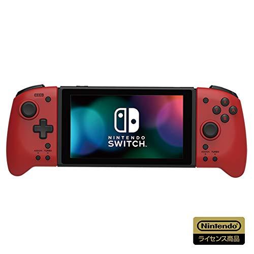 【任天堂ライセンス商品】グリップコントローラー for Nintendo Switch レッド【Nintendo Switch対応】