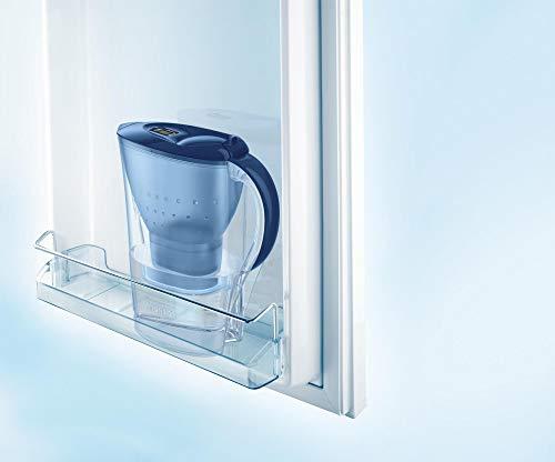 BRITA, Carafe Filtrante, Marella, 2.4L, 3 Cartouches Filtrantes MAXTRA+ incluses - Bleu